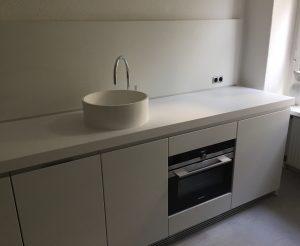 Küche mit Becken