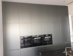 Küche bulthaup Hochschrank Wand Metall