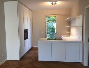 Küche Bulthaup b1 Hochschränke mit L-Winkel